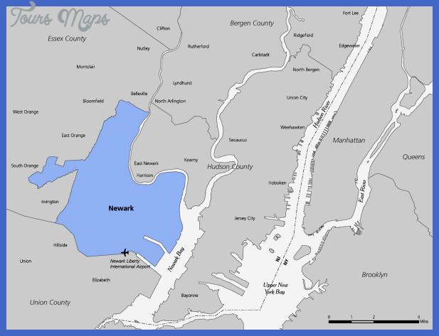 newark area map Newark Map