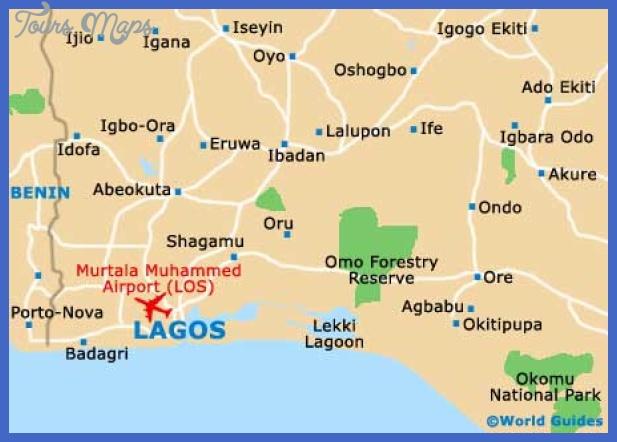 Lagos Map ToursMapscom