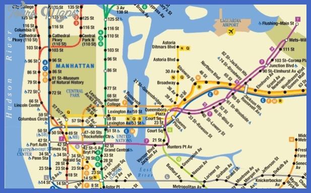 ny subway map Charlotte Subway Map