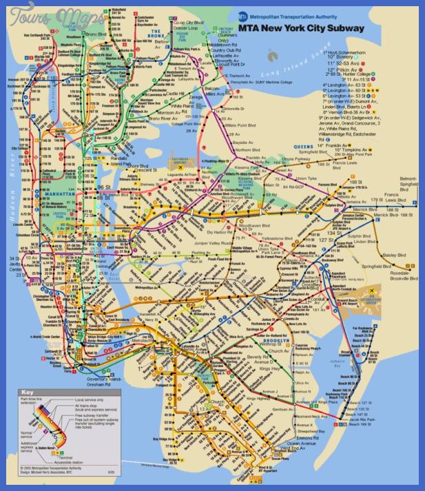 nyc subway map16 Oklahoma City Subway Map