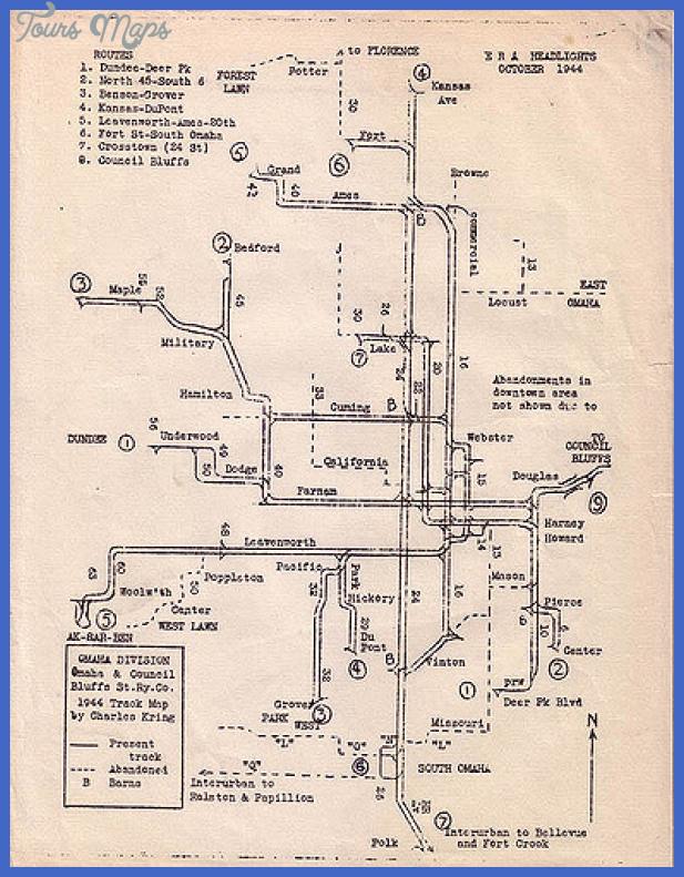 omaha subway map 6 Omaha Subway Map