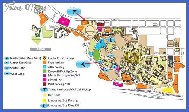 one direction el paso parking map El Paso Metro Map