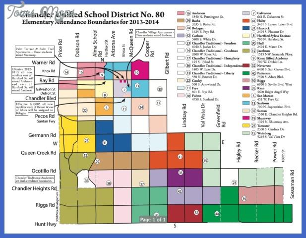 original Chandler Metro Map