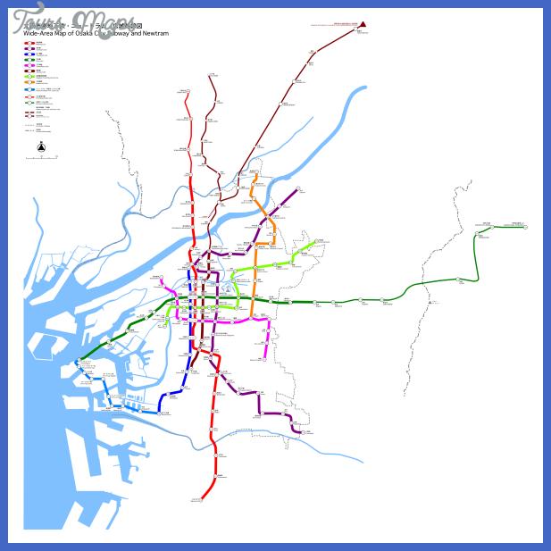 osaka Syria Subway Map