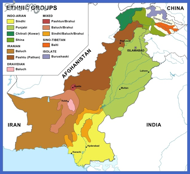 pakistan map  0 Pakistan Map