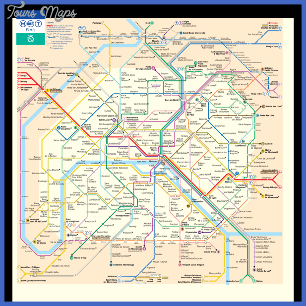 paris metro map Paris Metro Map