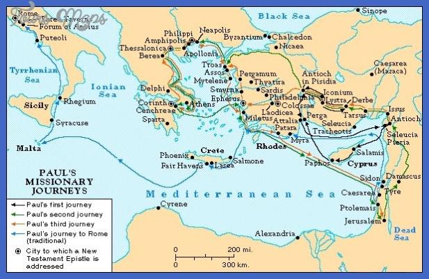 paulsjourneys St. Paul Map