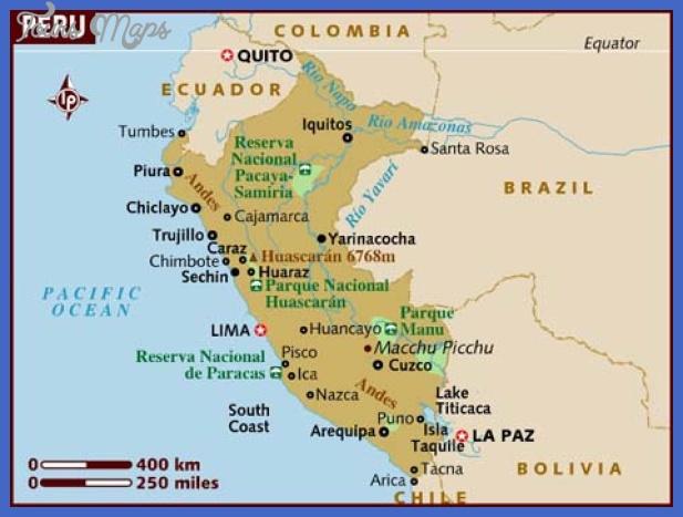 peru map 3 Peru Map