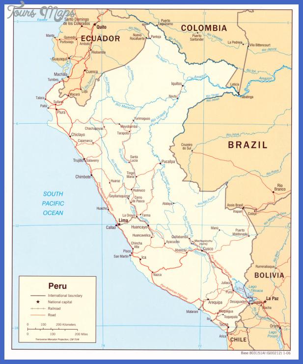 peru pol 06 Peru Map