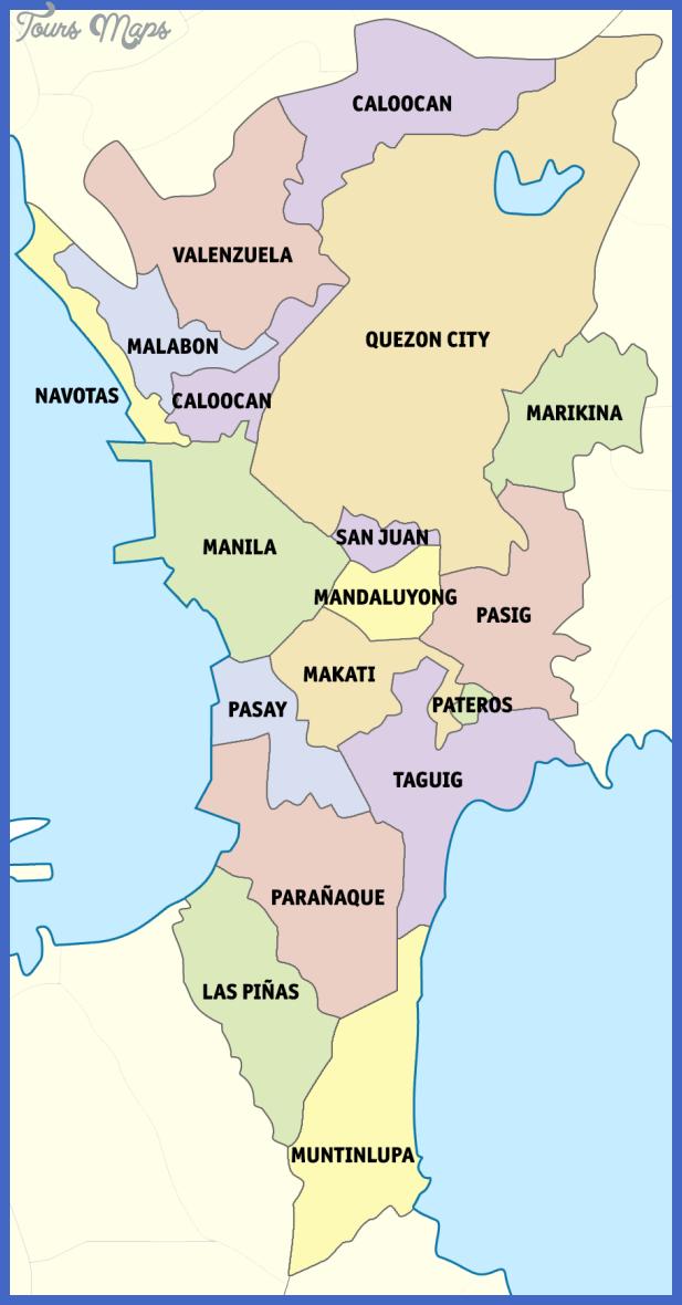 ph fil metro manila Manila Metro Map