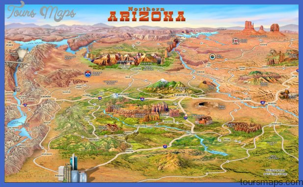 Northern Arizona attractions Map See map details