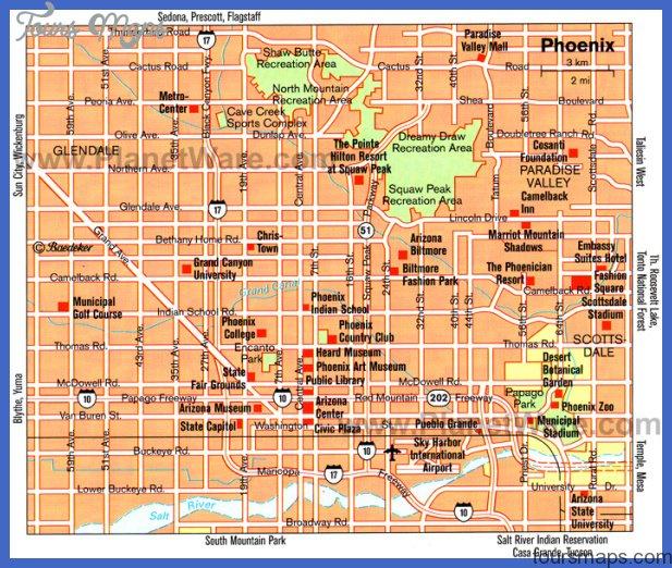 phoenix map Phoenix Map