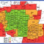 phoenix zip code map 150x150 Chandler Metro Map