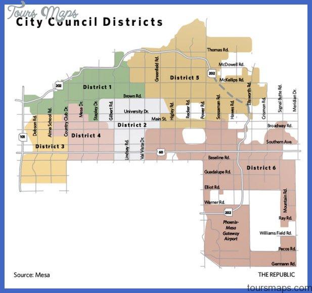 phoenixmesa subway map  5 Phoenix Mesa Subway Map