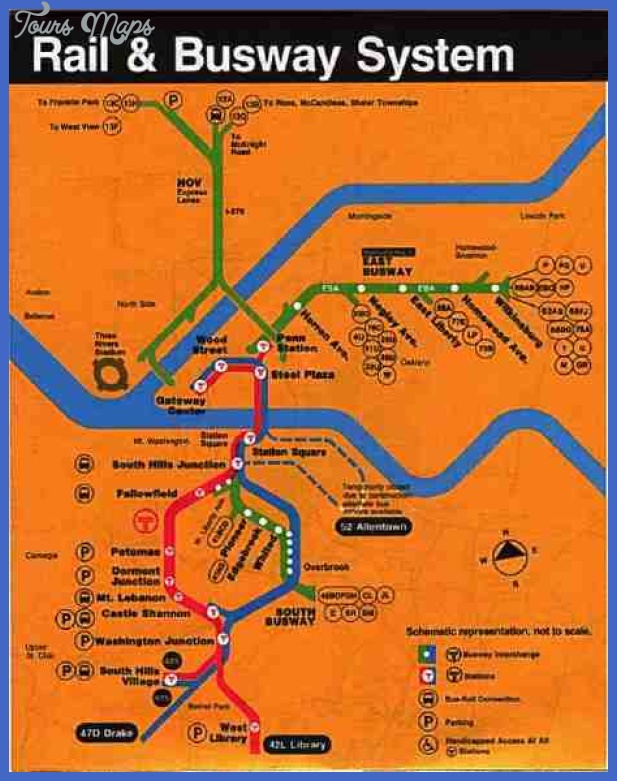 pittsburgh dw jpg 1 Pittsburgh Subway Map