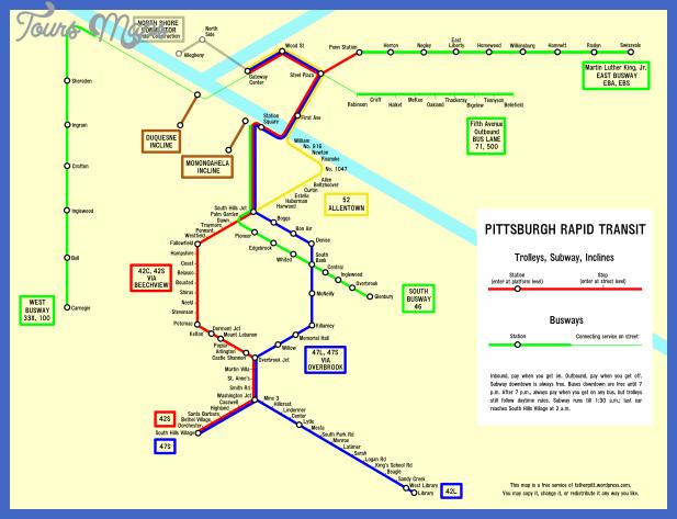 pittsburgh rapid transit inkscape Pittsburgh Metro Map