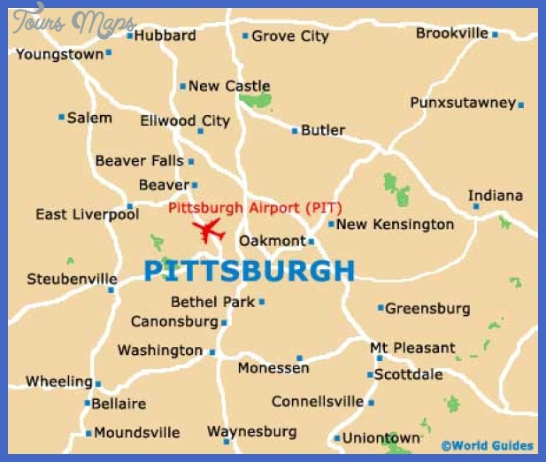 pittsburgh map Pittsburgh Map