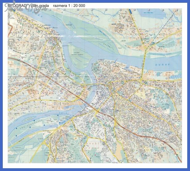 plan mesta Beirut Subway Map