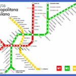 planometromilan 150x150 Milan Subway Map