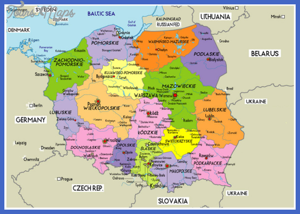 Poland Map Toursmaps Com