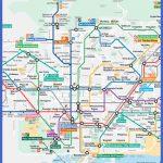 printable barcelona metro map center 150x150 Barcelona Subway Map