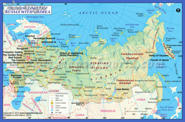 proposed russia map Russia Map