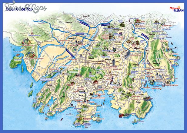 pusan tourist map Seoul Map Tourist Attractions
