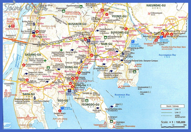 Korea North Map Tourist Attractions ToursMapsCom – Tourist Attractions Map In Pennsylvania