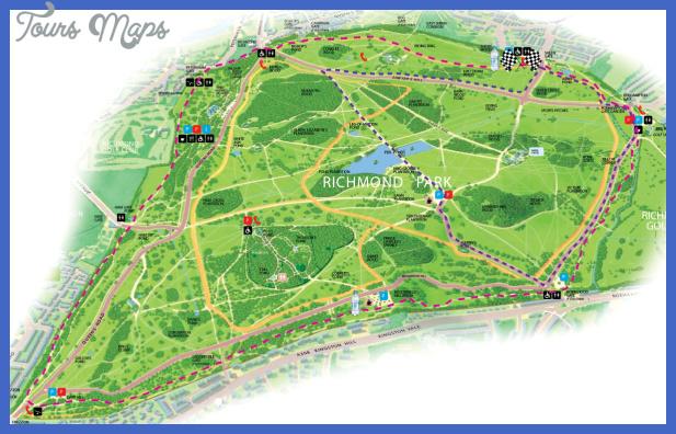 richmondparkmap route Richmond Subway Map