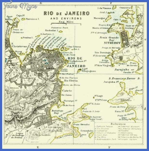 rio de janeiro historical map mediumthumb Rio de Janeiro Map