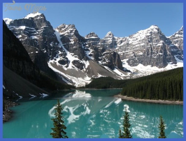 Rocky Mountains Canada Winter Destinations Best Vacation Usa