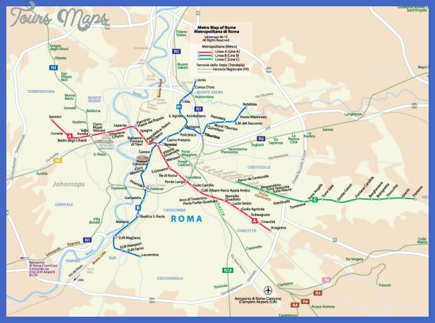 romametro Rome Subway Map
