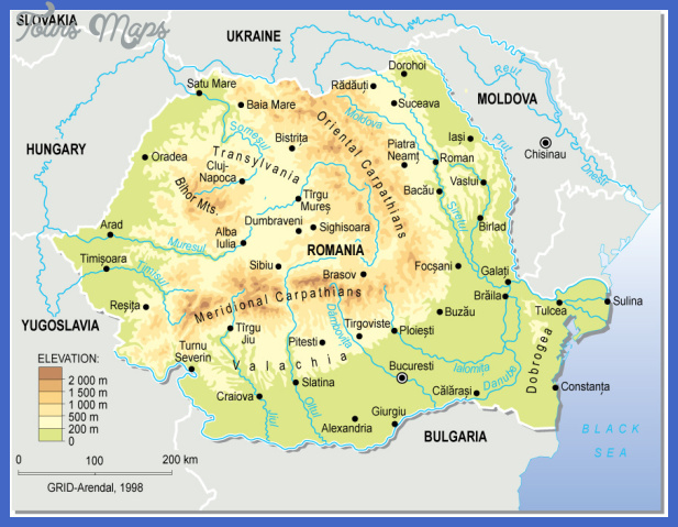 romania topographic map Niger Subway Map