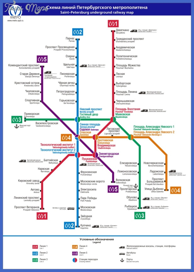 russia subway map  0 Russia Subway Map