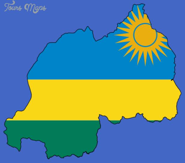 rwanda map3 Rwanda Map
