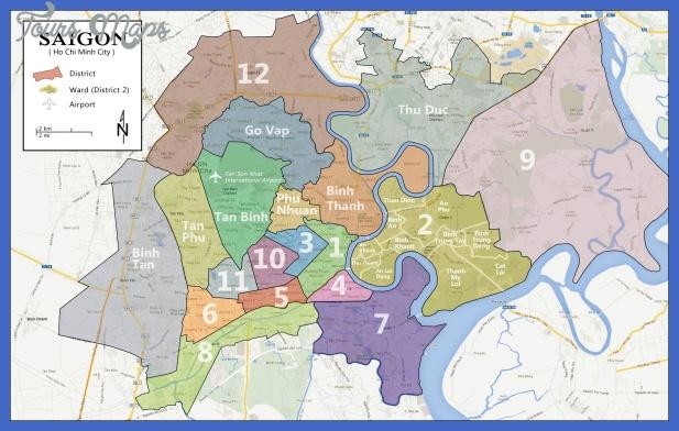 saigon map Ho Chi Minh City Subway Map