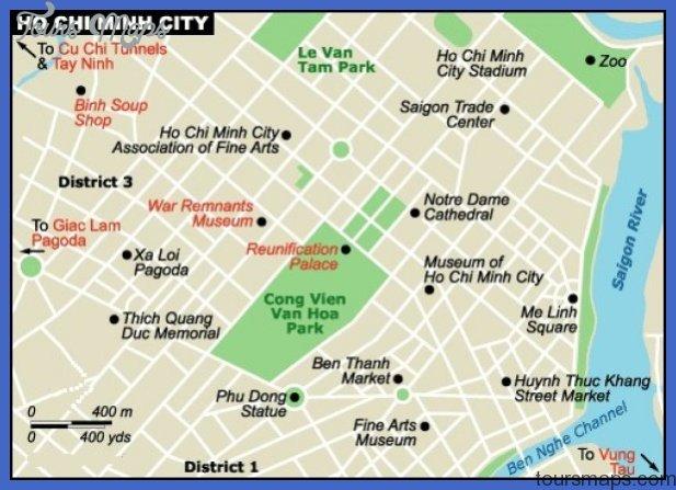 saigon map jpg Ho Chi Minh City Subway Map