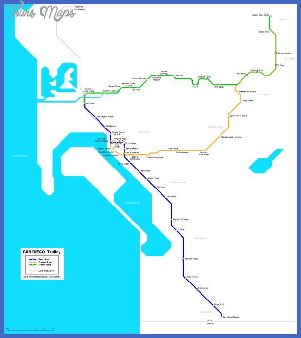 san diego map metro 1 San Diego Metro Map