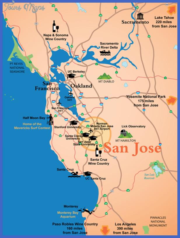 san jose map  2 1 San Jose Map