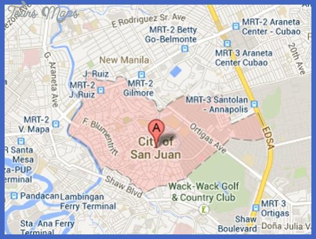 san juan map San Juan Metro Map