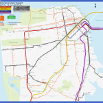 san francisco streetcar map by qweqwe321 150x150 Recife Subway Map