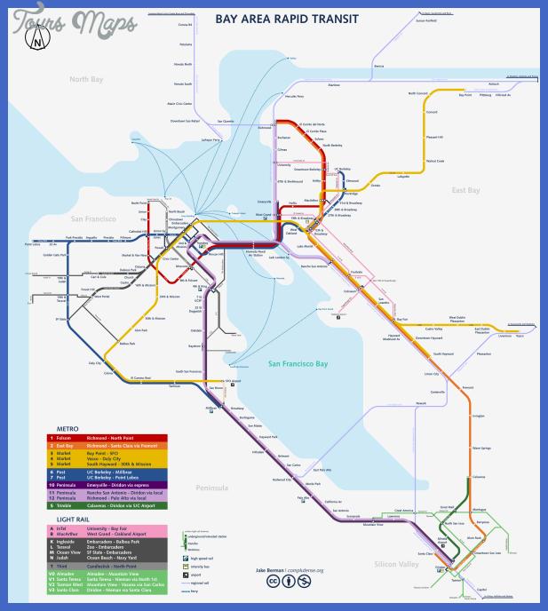 san francisco subway map by qweqwe321 2 San Jose Metro Map