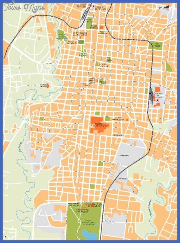 san jose2 San Jose Map