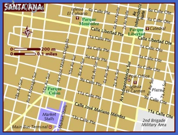 santa ana map  1 Santa Ana Map
