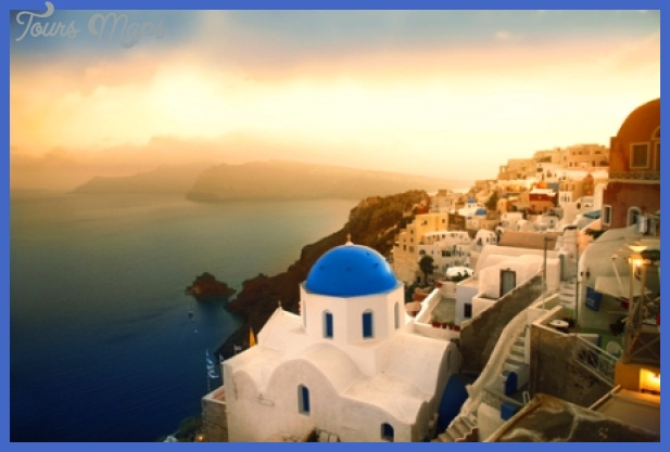 santorini Best vacation destinations in the US