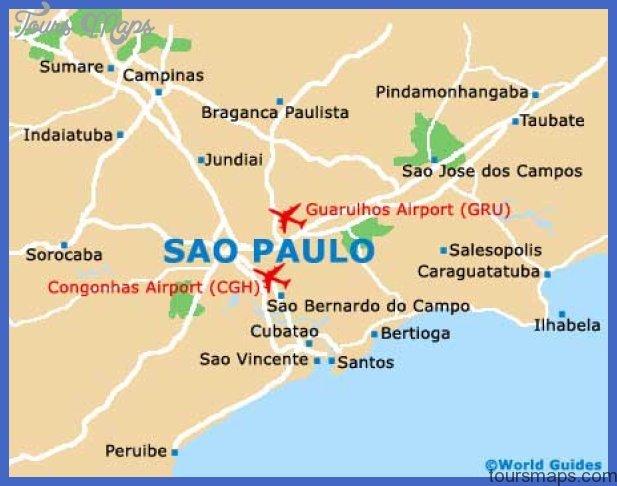 sao paulo map Campinas Metro Map