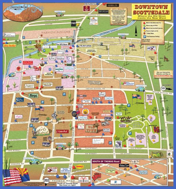 scottsdale map 923 Scottsdale Map