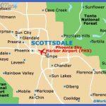 scottsdale map city 150x150 Phoenix Mesa Map Tourist Attractions