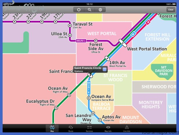 App Shopper: San Francisco Metro Free - Map and route planner by Zuti ...
