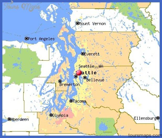 seattle map 1 Seattle Map